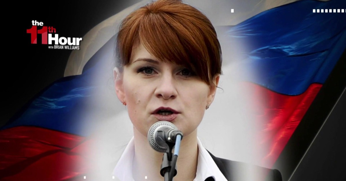 Feds Nra-Linked Russian Was A Spy Offering Sex To Gain Access-6194