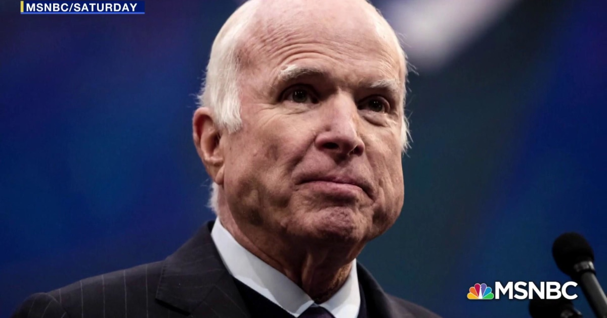 John McCain requested only former presidents at funeral