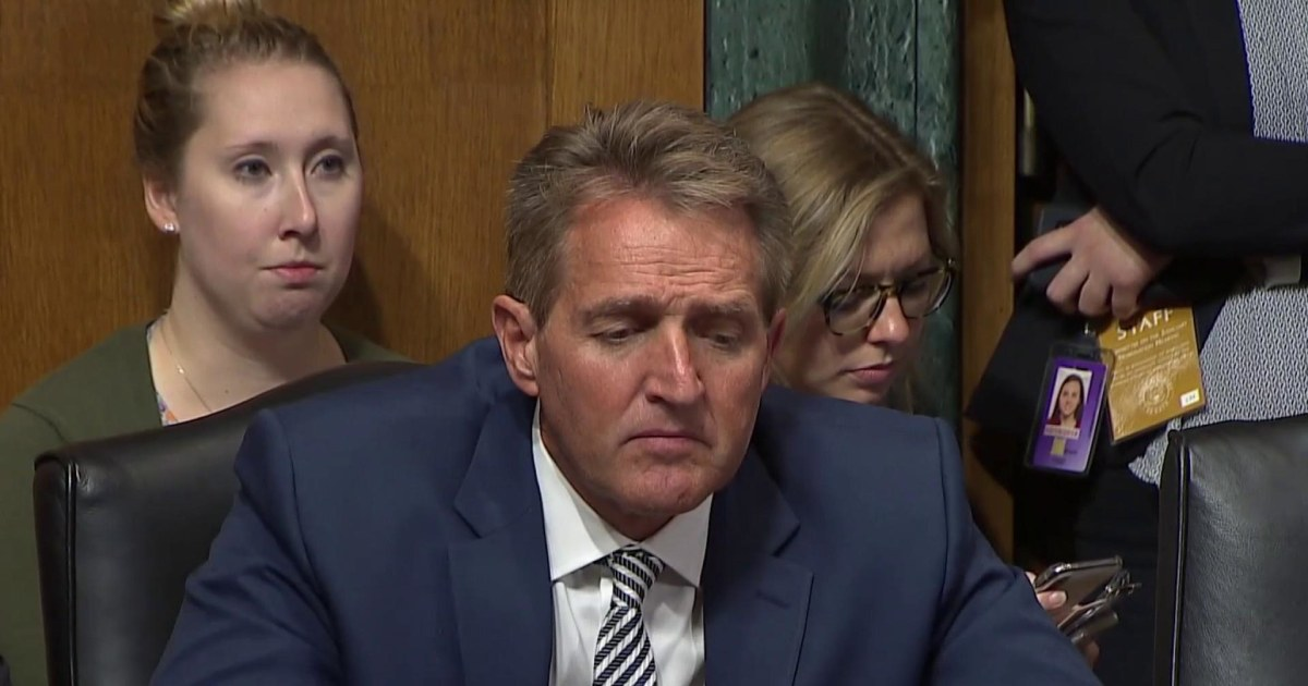 Lawrence: Watch Sen. Jeff Flake listen, then decide to act