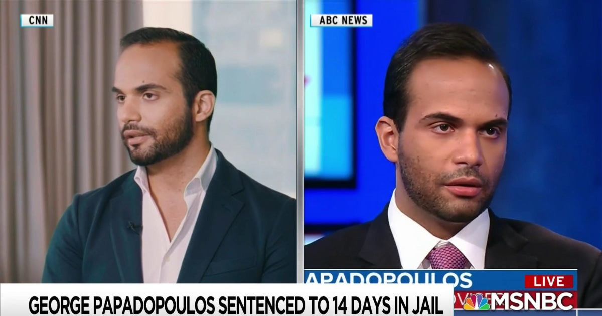 Papadopoulos calls Trump Russia investigation start into question