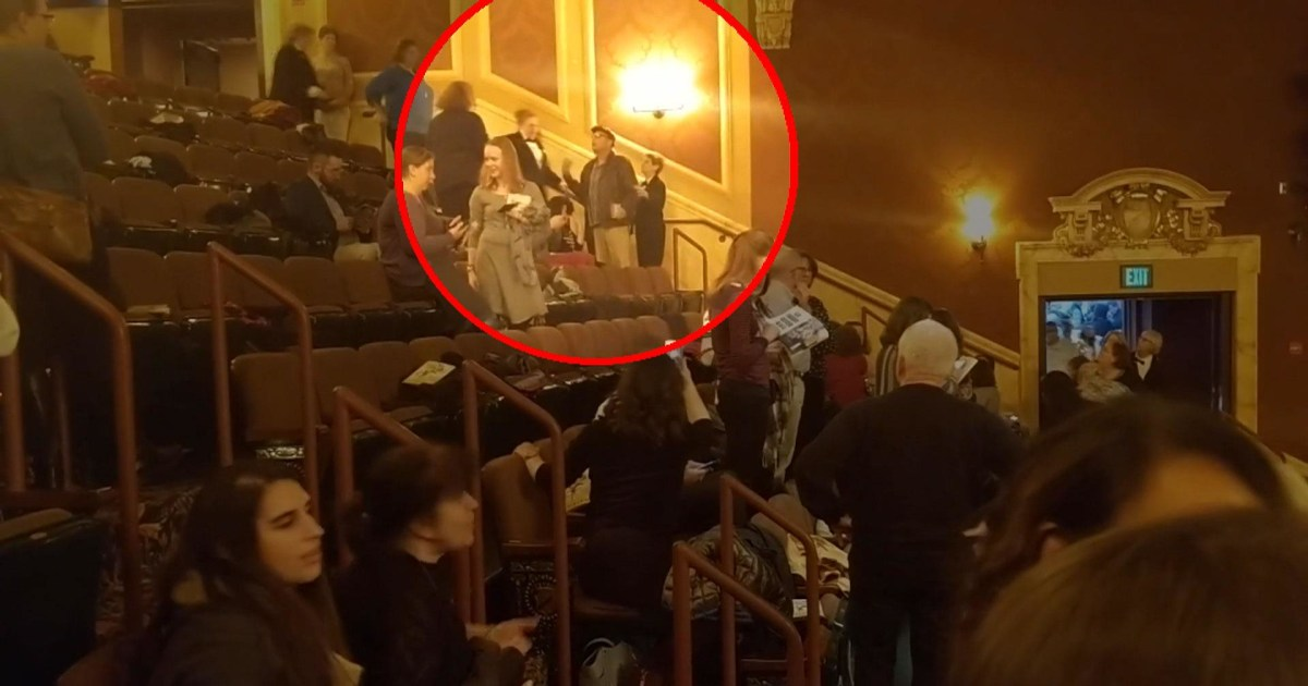 Video Shows Angered Baltimore Audience After Man Shouts