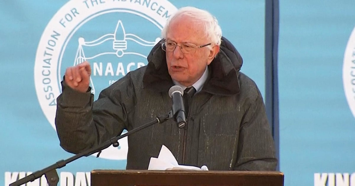 Sanders: 'We now have a president of the United States who is a racist'