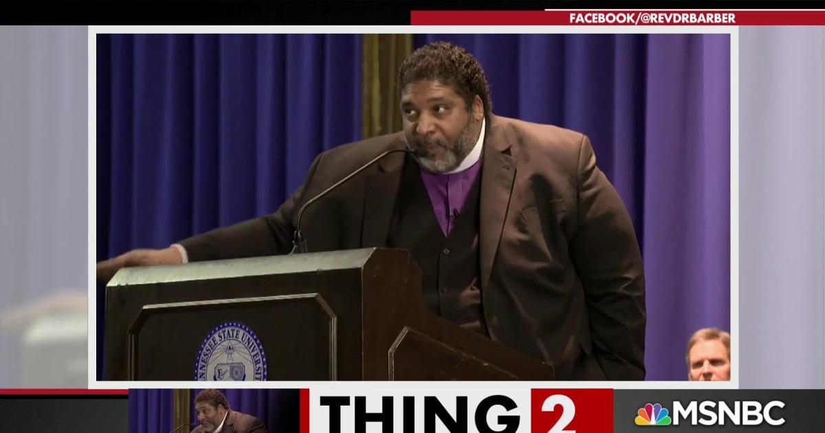 Rev. Barber blasts politicians for hypocrisy about MLK