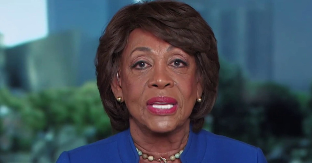 Rep. Maxine Waters: We're doing everything we can to reopen government and president must be impeached