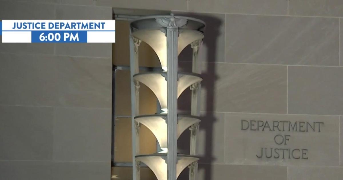 Watch DOJ's Mueller report news break on live TV