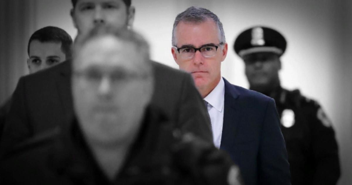 McCabe: Trump's loyalty demands are classic criminal enterprise behavior