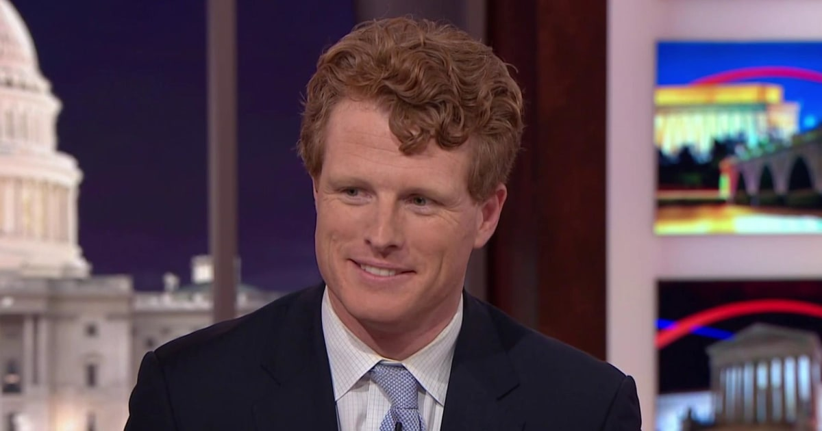 Rep. Joe Kennedy: Green New Deal tackles climate change, inequality