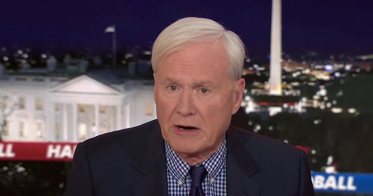 Matthews: House Democrats are showing why elections matter