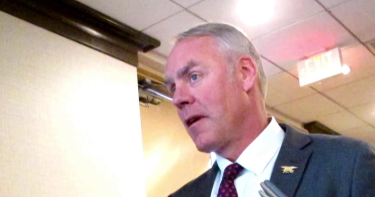 Grand jury investigating fmr Trump Interior Secretary Zinke: WaPo