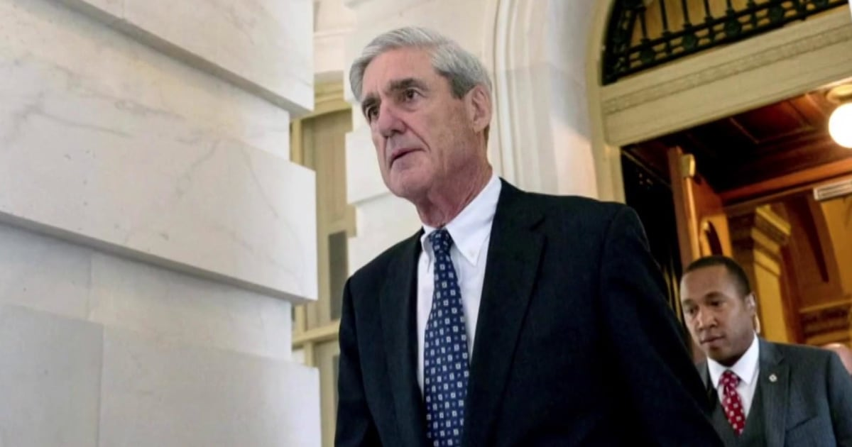 Senior Department of Justice official: Attorney General William will not receive Special Counsel Robert Mueller's report next week