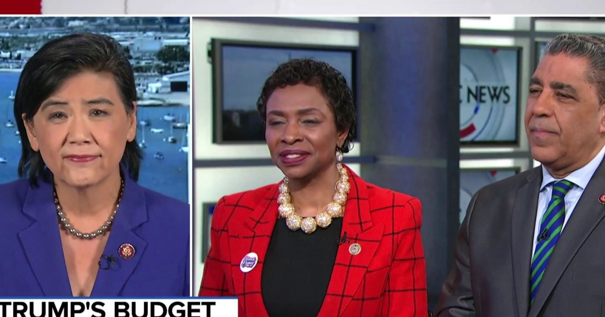 CBC member: The House won't vote for Trump's 2020 budget