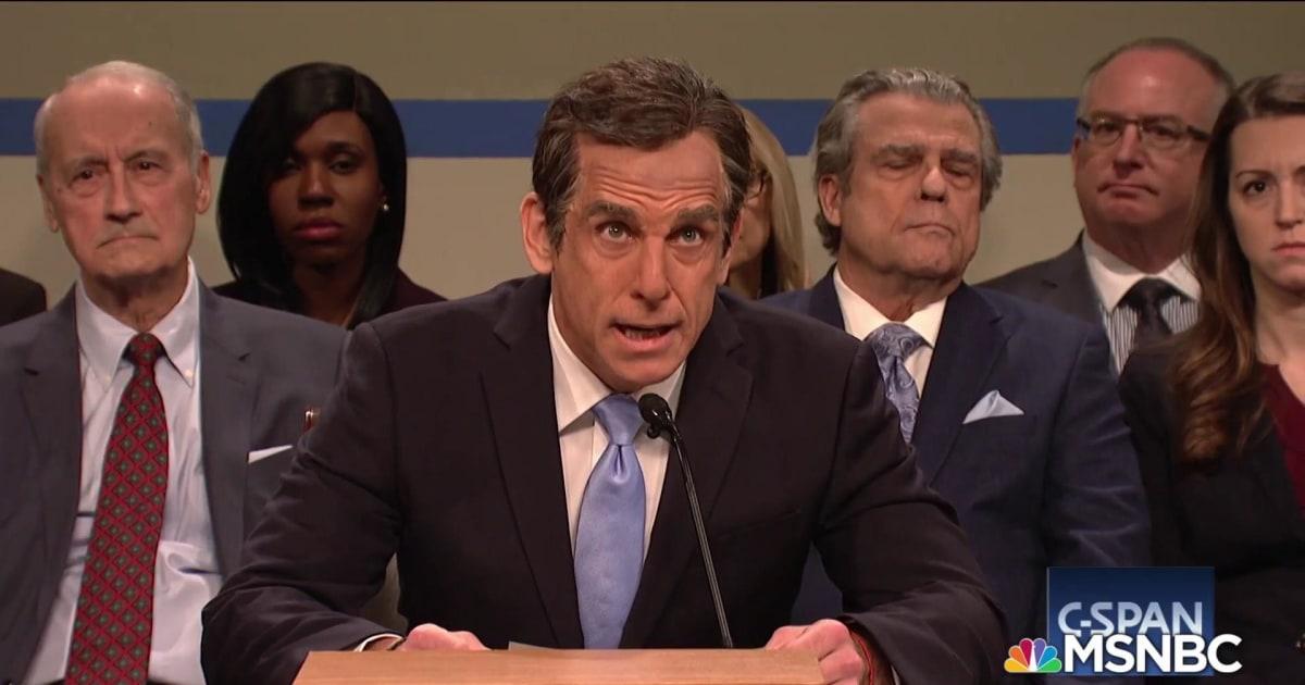SNL brings back Ben Stiller to spoof Michael Cohen