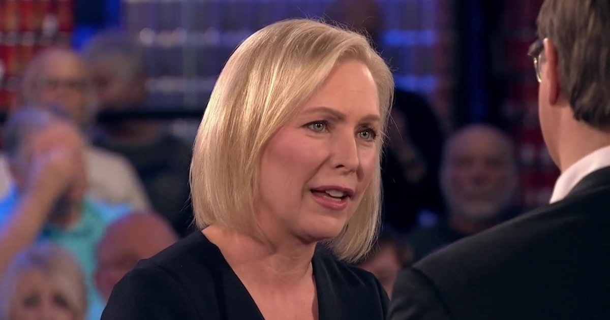 Web-exclusive: Sen. Kirsten Gillibrand on whether she regrets representing Philip Morris