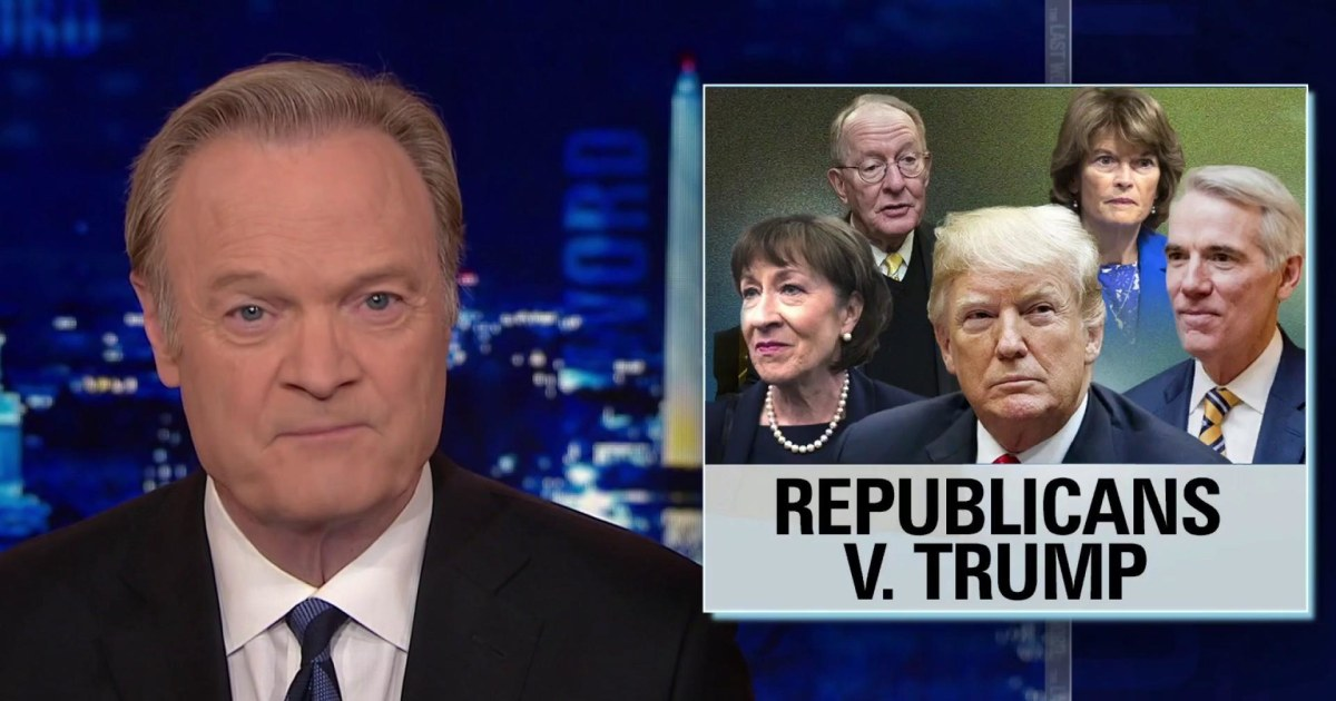 2 times in 2 days Republicans vote against Trump