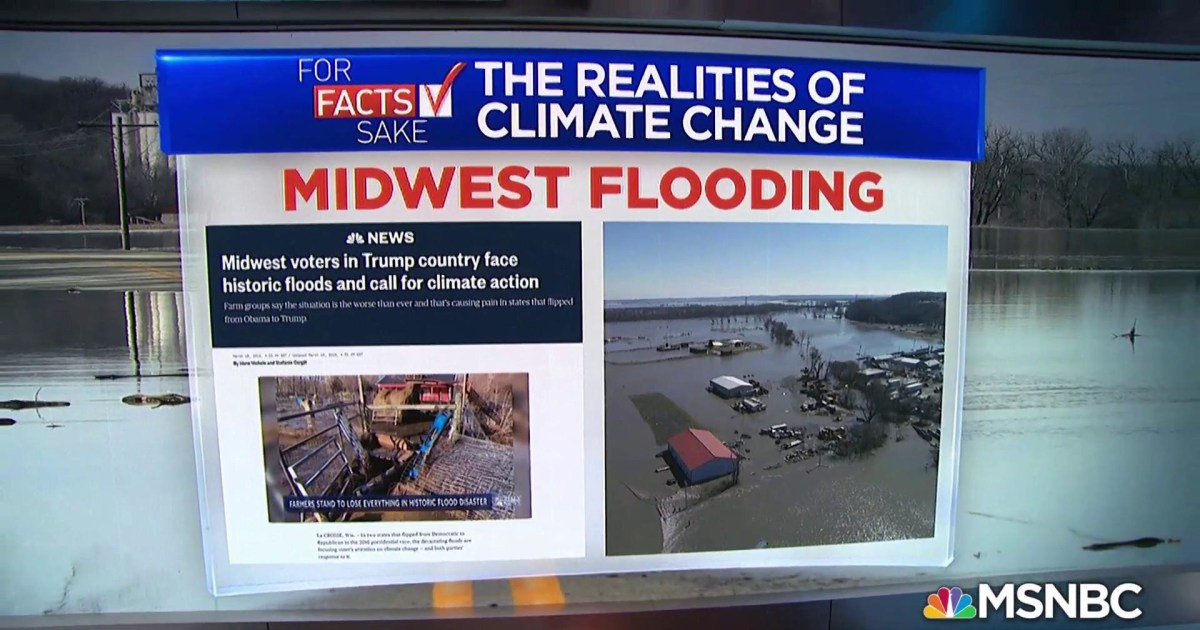For Fact's Sake: Climate change is a pressing threat