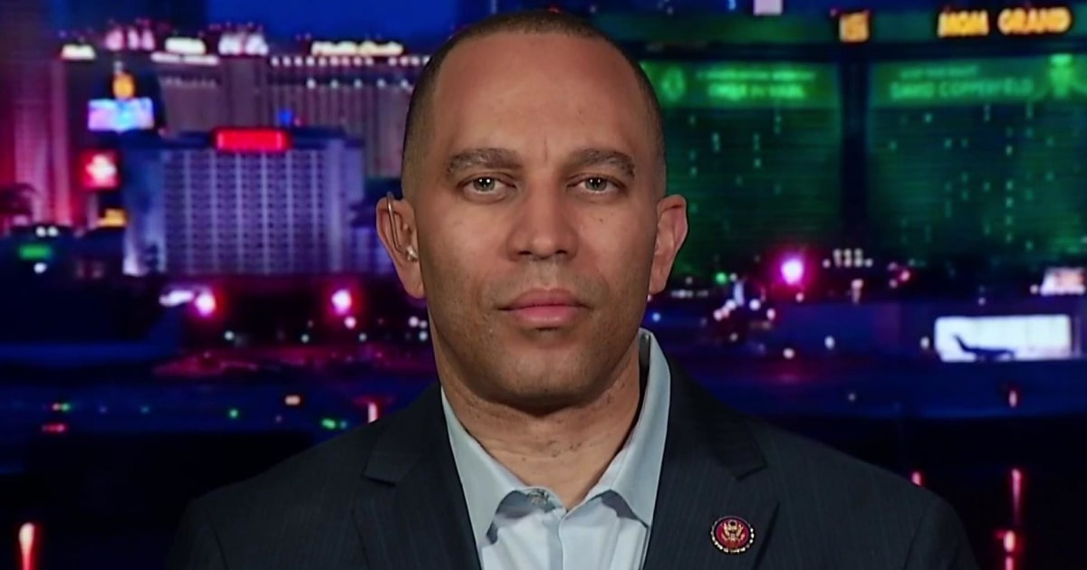 Dem Rep. Jeffries: AG Barr can't be trusted so we need Mueller's full report