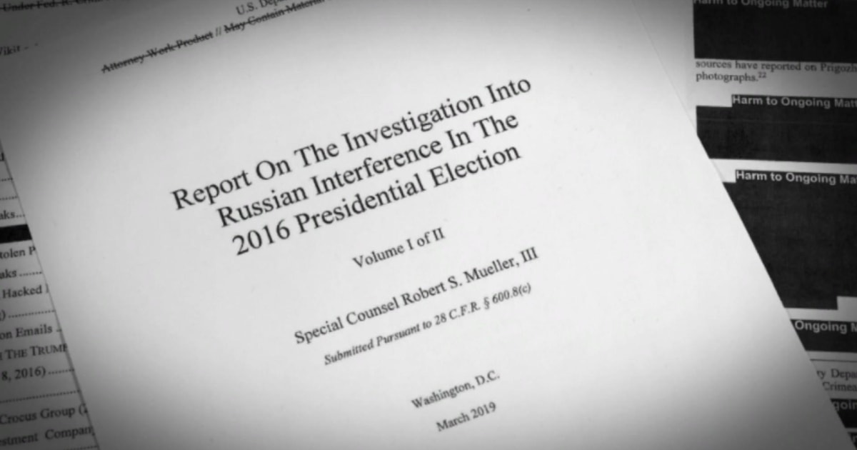 The legal questions for Trump the Mueller report did not answer