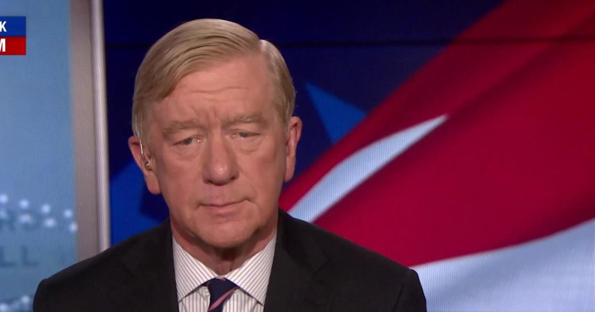 Bill Weld calls Trump a 'one man crime wave'