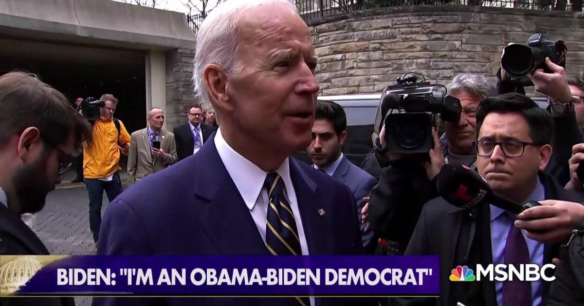What exactly is an Obama-Biden Democrat?