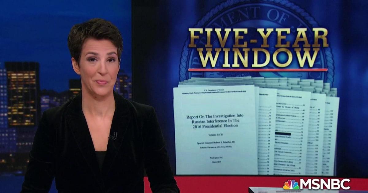 Mueller Report: Outline for Prosecution