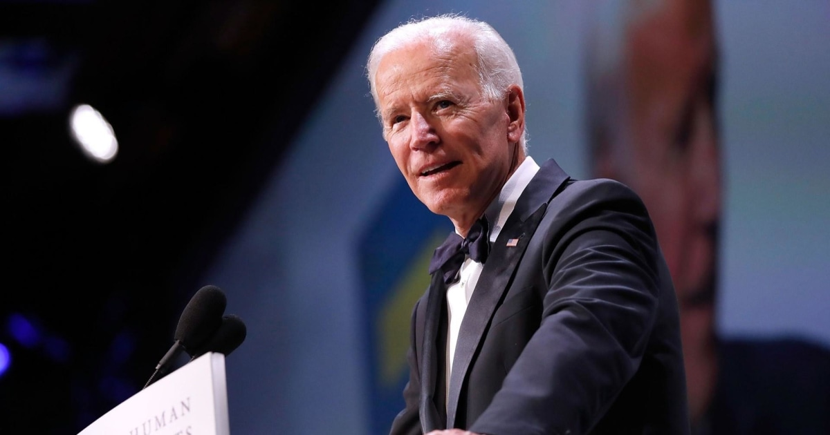 Biden to officially announce 2020 presidential run Thursday