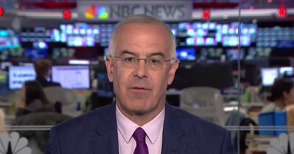 David Brooks Discusses His New Book The Second Mountain