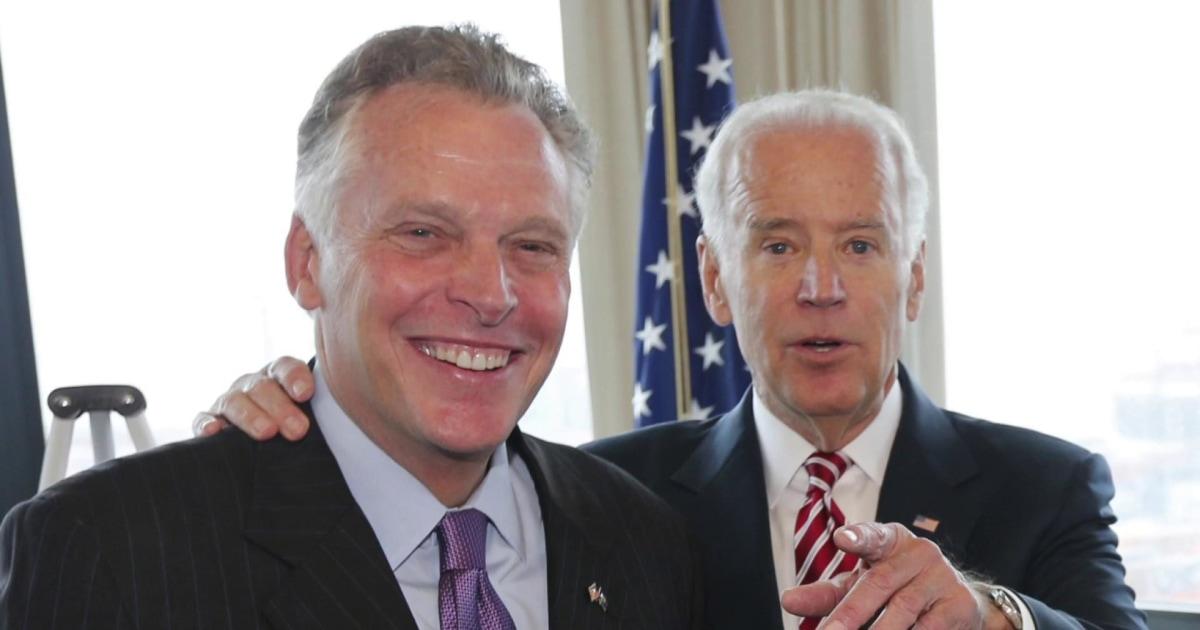 Former Governor Terry McAuliffe makes the case for Joe Biden