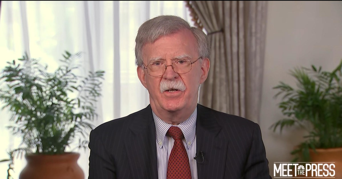Bolton on Cuba foreign policy: 'I don't think we need to make any apologies'
