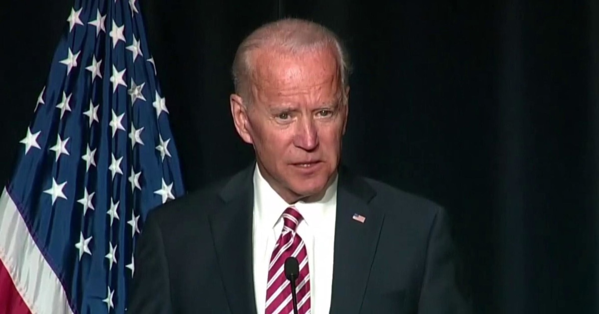 What Biden's opponents are saying about him on the campaign trail