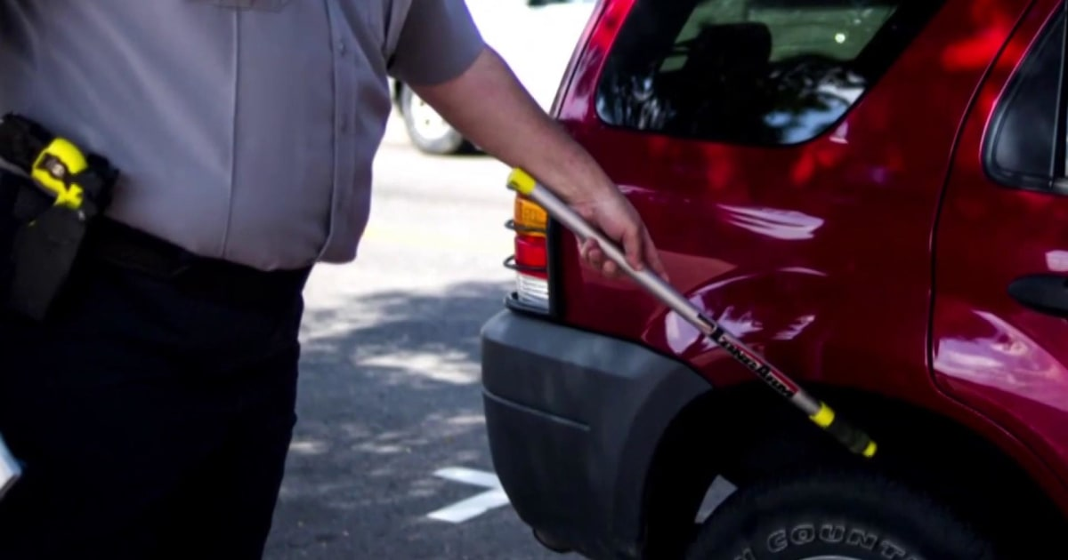 Parking authorities marking car tires with chalk ruled unconstitutional