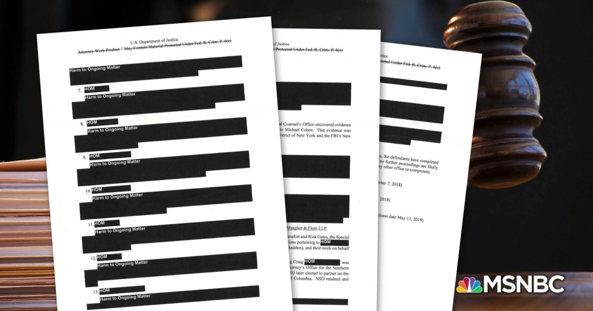 From Mueller to SDNY: The criminal referrals from the special counsel