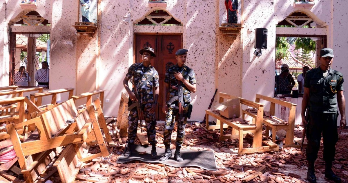 Hundreds dead in 8 coordinated Easter Sunday bombings in Sri Lanka