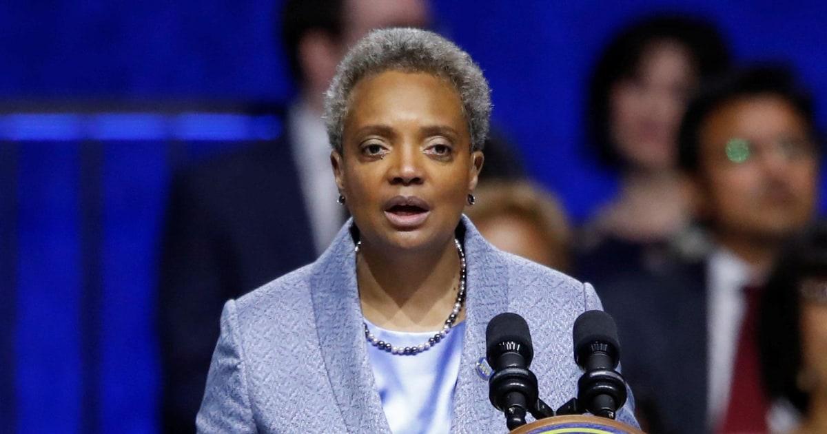 Chicago's new mayor Lori Lightfoot makes history as first black LGBTQ woman  mayor