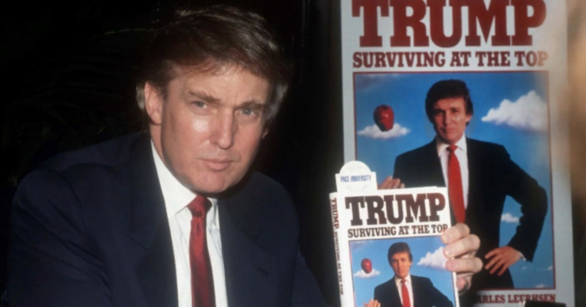 While living large in the 1980s and 1990s, Trump lost over $1 billion