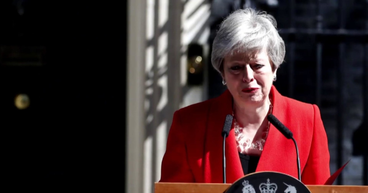 Theresa May calls it quits, and no one knows what's next for UK and Brexit