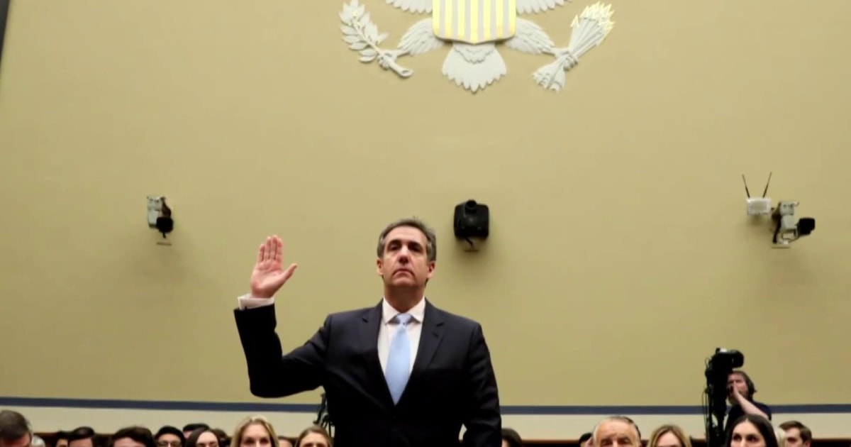 Cohen says Trump attorney Jay Sekulow told him to give false info to Congress