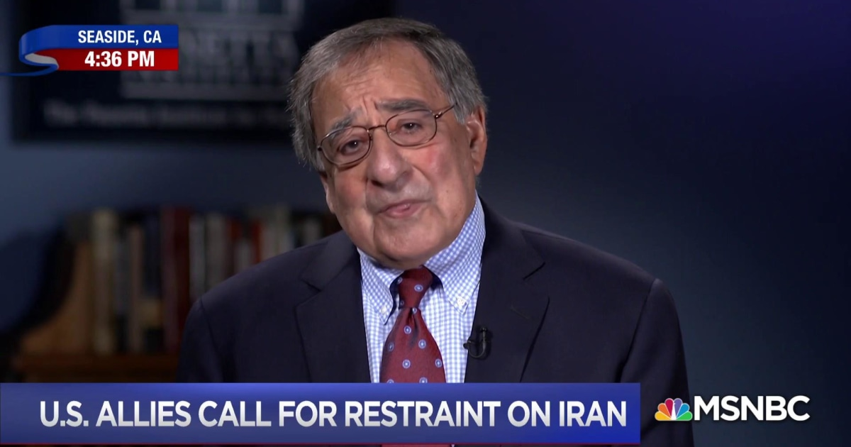 Leon Panetta: Trump tore up Iran deal without a strategy