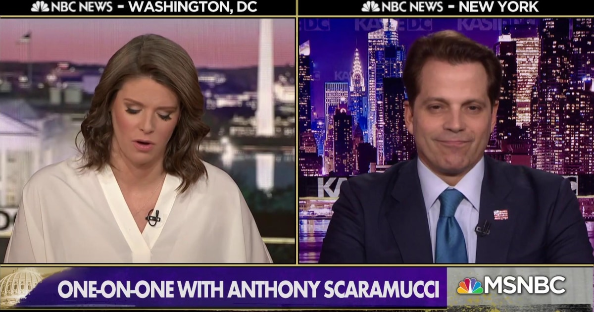 Scaramucci: Not a constitutional crisis yet, but 'both sides should be super careful'