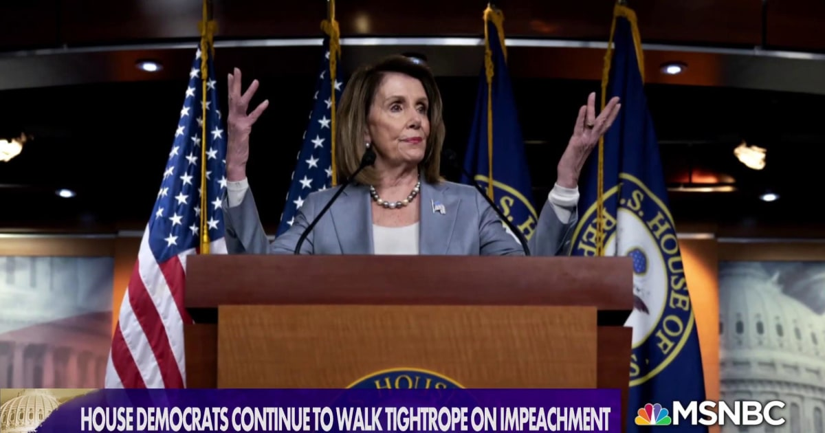 How Badly Do You Want It? Impeachment could be Dems' only path to key info