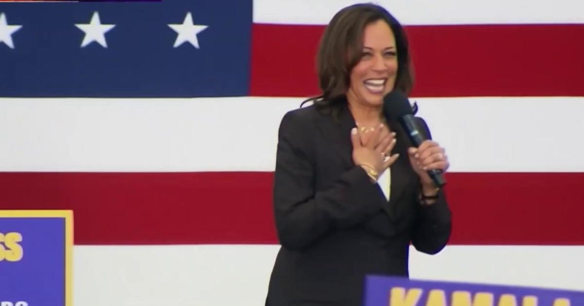 'Joe Biden would be a great running mate': Harris flips VP speculation on its head