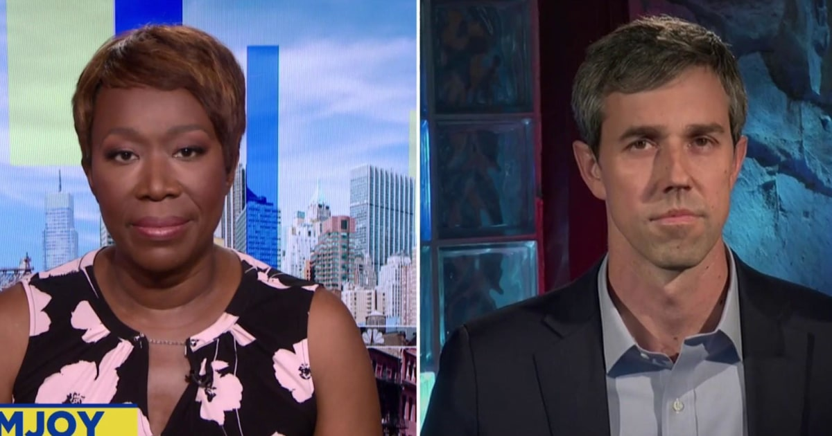 O'Rourke on whether Democrats should try to woo Trump voters