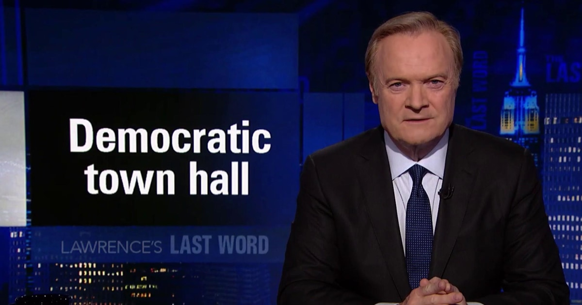 Lawrence's Last Word: Elizabeth Warren turns down Fox News town hall