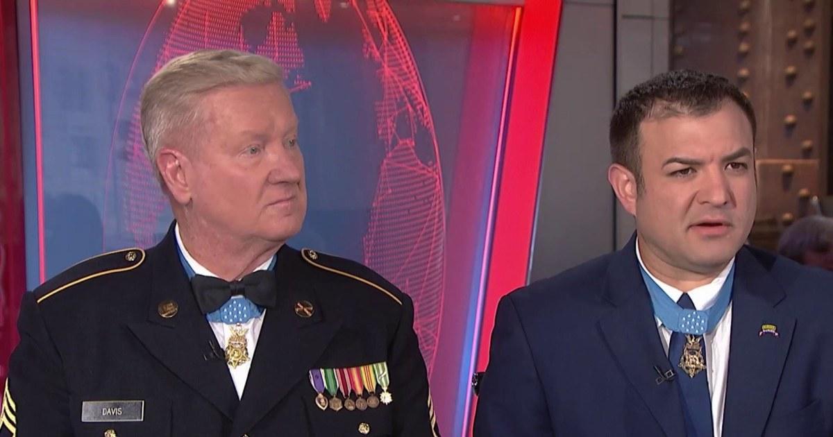Heroic service members speak on meaning of their Medals of Honor