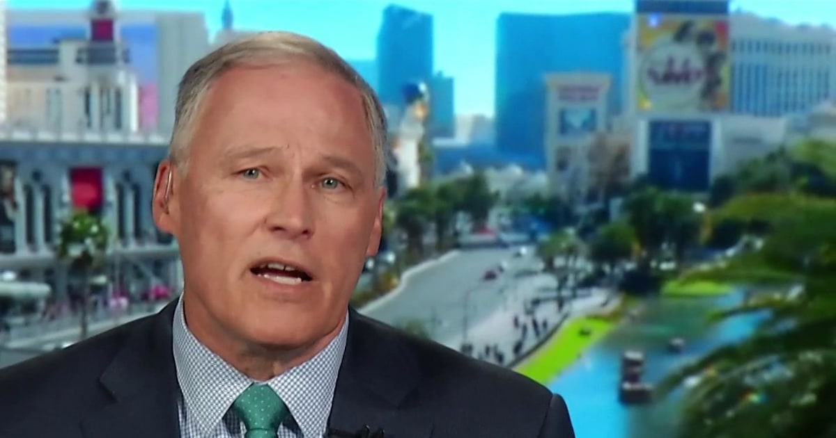 Gov. Inslee: I would support impeachment 'at the right moment when the evidence allows'
