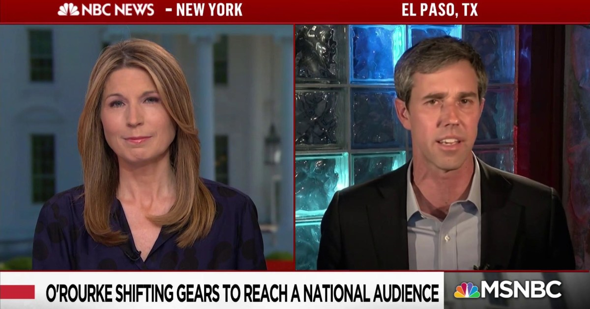 Beto O'Rourke: The only way we'll get answers now is to move forward on impeachment