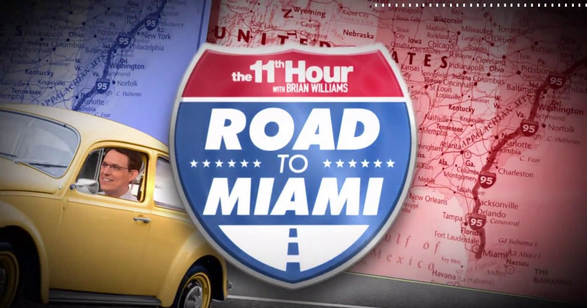 Road to Miami: Steve Kornacki on what you need to now about Rhode Island before 2020
