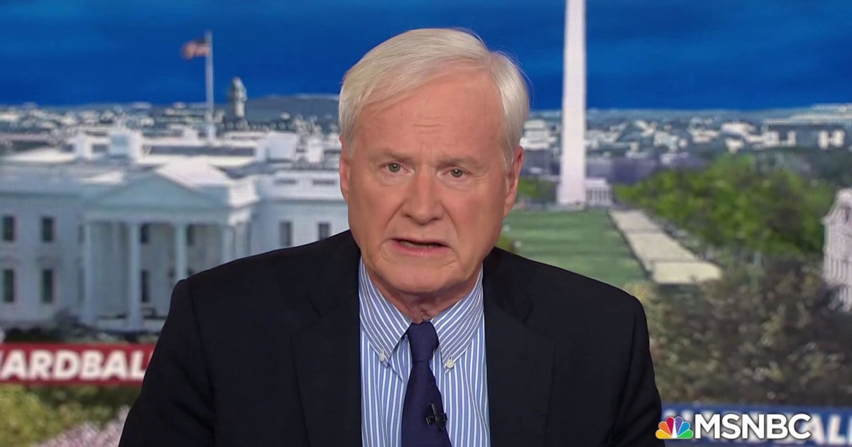 Chris Matthews to Democrats: You won't impeach, you don't scare Trump