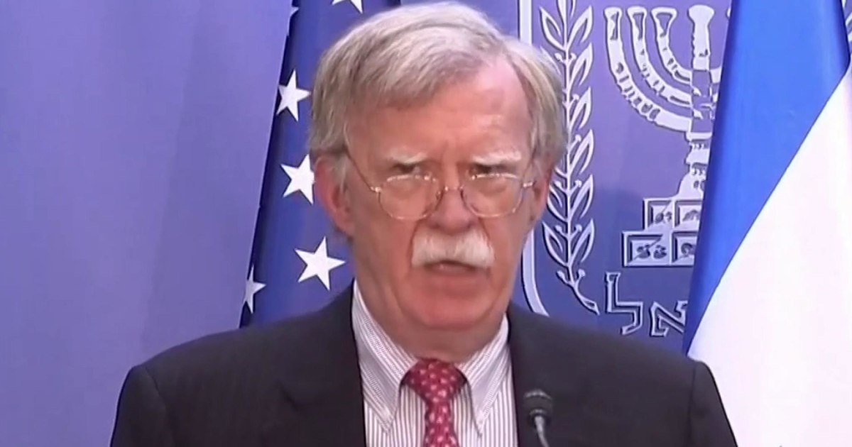 John Bolton issues a warning to Iran