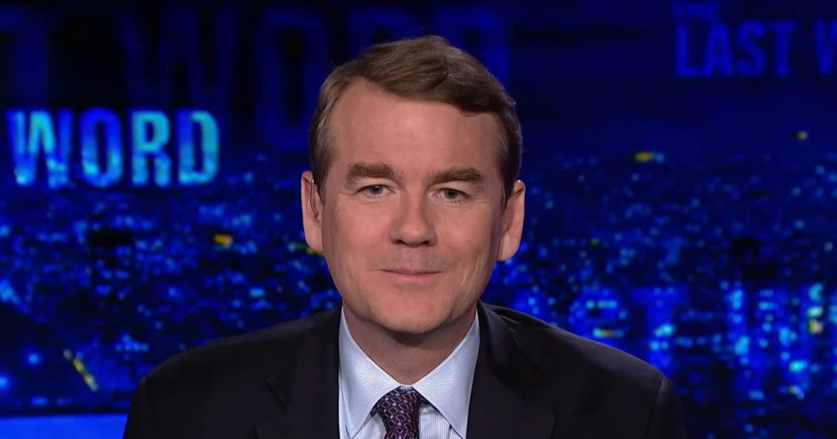 Sen. Bennet: Trump has 'no respect for the rule of law'