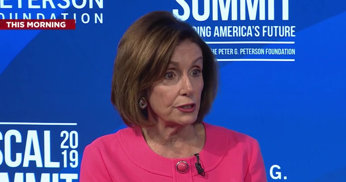Pelosi says she left politics behind at D-day event and Trump 'took a different tack'